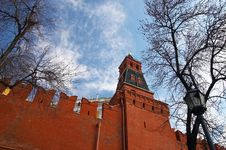 Free History Museum And Kremlin S Tower At Red Suare In Moscow. Royalty Free Stock Photos - 733898