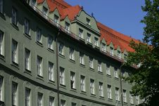 Free Curved Building In Munich Stock Image - 733951
