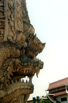 Free Thai Dragon Ii Royalty Free Stock Photo - 733985