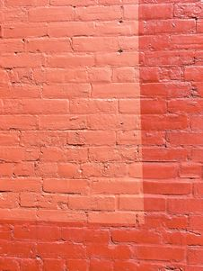 Free Colorful City - Coral Bricks Royalty Free Stock Photography - 734247