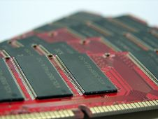 Free RAM Modules Close Up Royalty Free Stock Photos - 734308