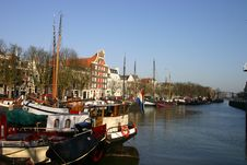 Free Boats In Canal Stock Images - 735244