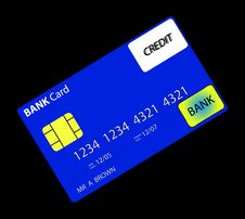 Free Bank Card 3 Stock Photos - 735273