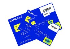 Free Bank Card 8 Stock Photo - 735280