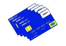 Free Bank Card 5 Stock Image - 735281