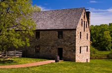 Free Historic Gristmill Royalty Free Stock Image - 735556