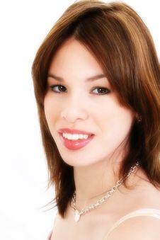 Beautiful Young Hispanic Woman Royalty Free Stock Image