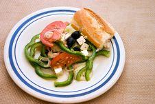 Free Greek Salad Full Stock Image - 736201