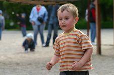 Healthy Kid Royalty Free Stock Photo
