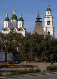 Free Astrakhan Kremlin, Russia Stock Photo - 736410