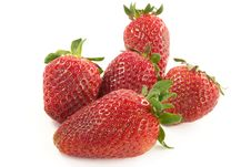 Free Ripe Strawberry Royalty Free Stock Image - 736776
