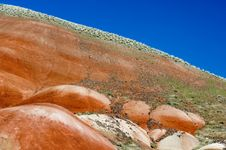 Free Oregon Painted Hills Royalty Free Stock Photo - 737985