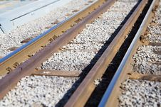 Free Railway Royalty Free Stock Photo - 738045