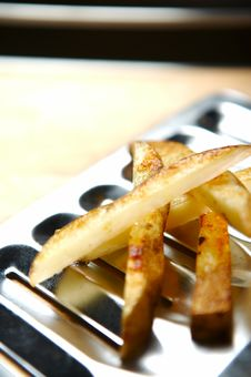 Free Fast Food - Chips Royalty Free Stock Photo - 738645