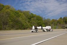 Free Tanker On Highway Stock Photo - 739410