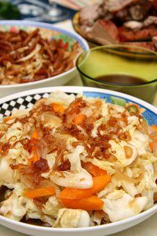 Free Stir-fried Vegetables Royalty Free Stock Image - 739626