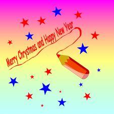 Free Christmas Card Stock Photo - 7300850
