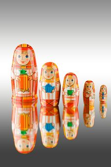 Free Russian Babushka Dolls Royalty Free Stock Photos - 7306338