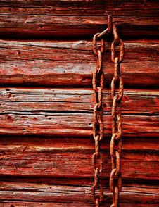 Free Rusted Chain Royalty Free Stock Image - 7310376