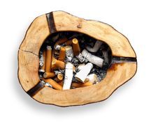 Free Cigarette Butts Stock Photography - 7311732