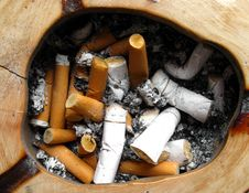 Free Cigarette Butts Royalty Free Stock Photo - 7311825