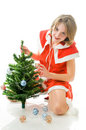 Free Mrs. Santa Claus Decorating The Christmas Tree Royalty Free Stock Photography - 7336607