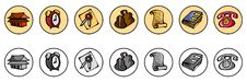 Free Icons For Web Site Stock Image - 7331851