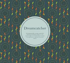 Free Dreamcatcher Background Stock Photography - 73316892