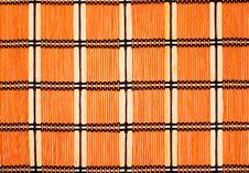 Free Bamboo Mat Royalty Free Stock Image - 7369446
