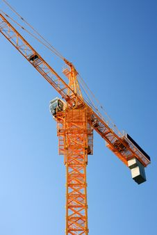 Free Construction Crane Stock Photography - 7369502