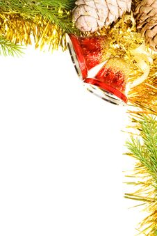 Free Christmas Frame Royalty Free Stock Image - 7374266