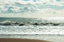 Free Bournemouth Beach, Dorset. Stock Photos - 73909233