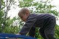 Free Child Climbing Stock Photo - 741640
