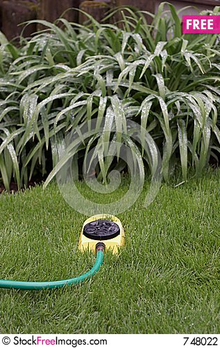 Free Sprinkler Finished Duty II Stock Photography - 748022