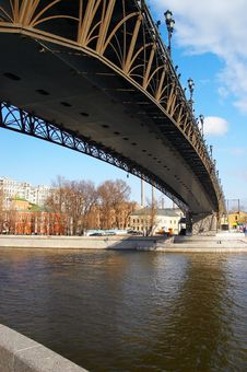 Free Moscow City, River And Bridge. Stock Photo - 740330