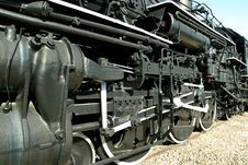 Steam Locomotive 4 Stock Photos