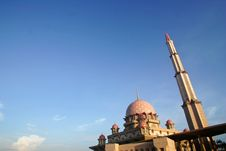 Free Putra Mosque Royalty Free Stock Image - 742966