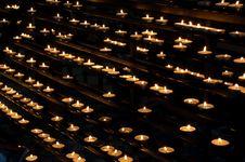 Free Votive Lights Stock Image - 742981