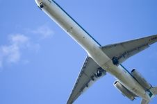 Free JET LANDING Stock Photos - 743043