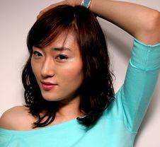 Free Korean Woman Royalty Free Stock Photos - 743718