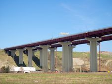 Free High Freeway Bridge Royalty Free Stock Photos - 743948