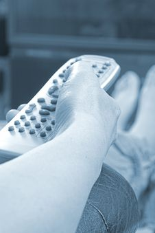 Free Blue Remote Stock Images - 744194