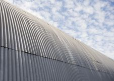 Free Metal Building And Sky Stock Images - 745044