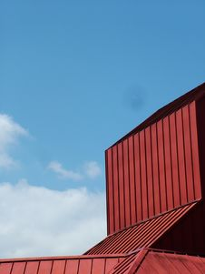 Free Red Barn Sky Royalty Free Stock Images - 745069