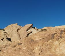 Free Vasquez Rocks Royalty Free Stock Image - 745176