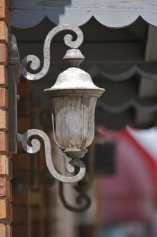 Free Outdoor Lamp Stock Photo - 745370