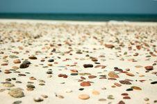 Free Stones On The Beach Stock Photo - 746280