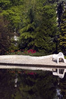 Free Water Garden Royalty Free Stock Photography - 746367