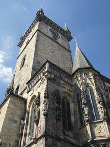 Prague Tower Royalty Free Stock Photo