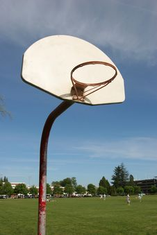 Free Rural Basketball Hoop Royalty Free Stock Photo - 747095